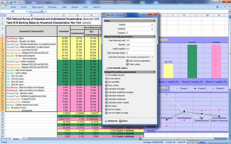 Click to view NeuroXL Clusterizer 4.0.5 screenshot