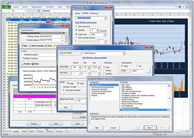 Click to view TraderXL Pro Package 6.1.39 screenshot