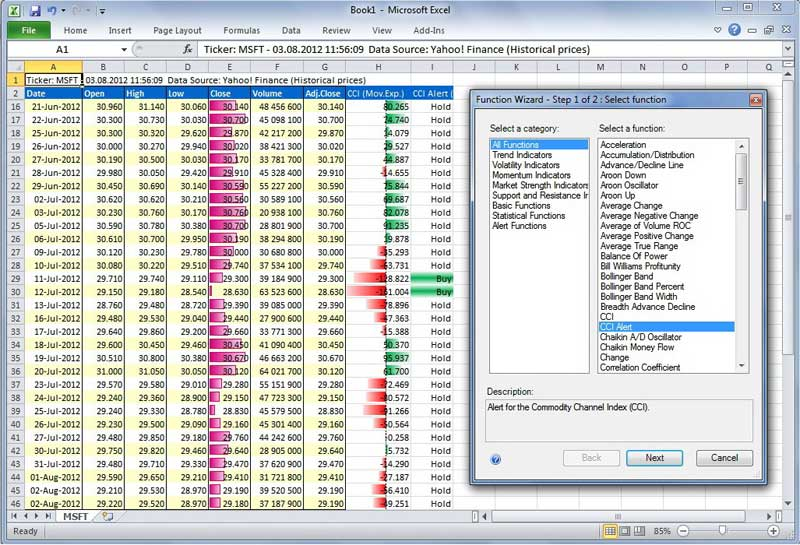 Click to view AnalyzerXL Pro 7.0.3 screenshot